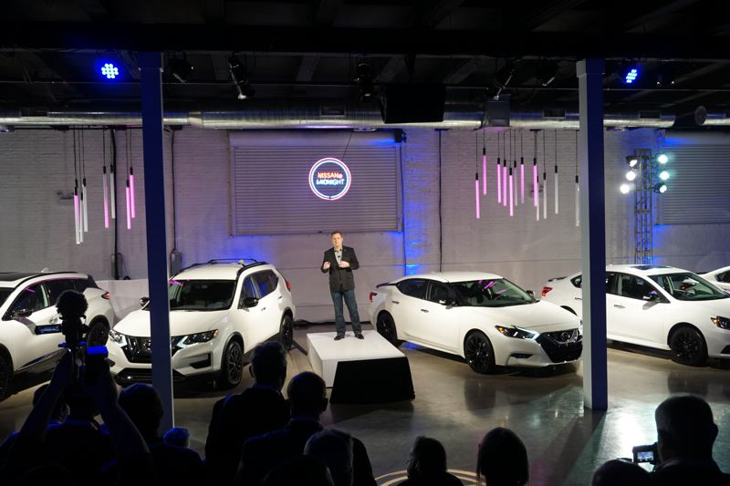 PORTLAND TRIBUNE: JEFF ZURSCHMEIDE - According to Nissan Director of Marketing Eric Ledieu, the six models offering Midnight Edition packages account for more than 75 percent of Nissan's U.S. sales.
