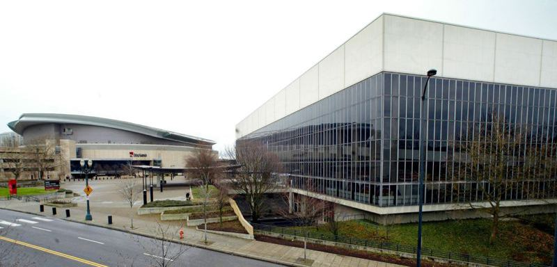 FILE PHOTO - Remember to the Glass Palace, known under it's unassuming name — Memorial Coliseum? Then came the Rose Garden, which made sense, and now the Moda Center, a monument to the all-mighty dollar. That's not weird, that's just business in America.