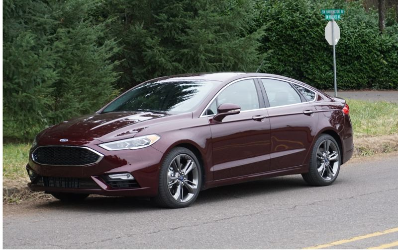 PORTLAND TRIBUNE: JEFF ZURSCHMEIDE - The 2017 Ford Fusion can be ordered as a very nice basic mid-size car or an exceptional Sport version that competes against Europe's best.