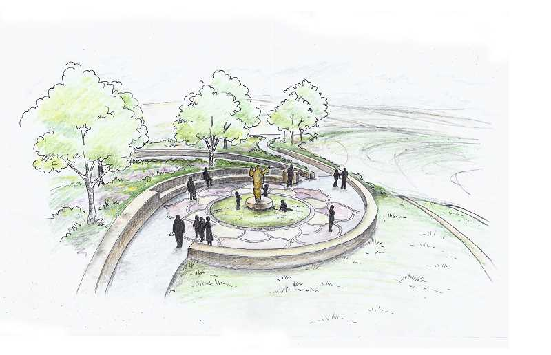 Ananda Center plans public garden in Laurelwood