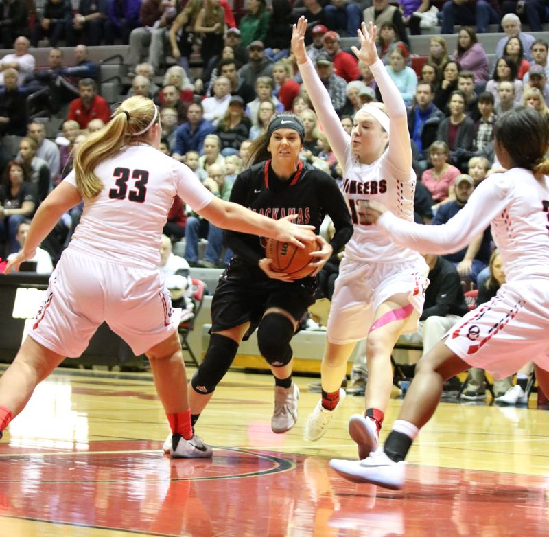 Clackamas downs Pioneers, on verge of Mt. Hood title