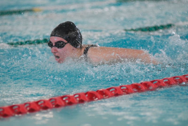 Sandy swim team competes at NWOC district meet