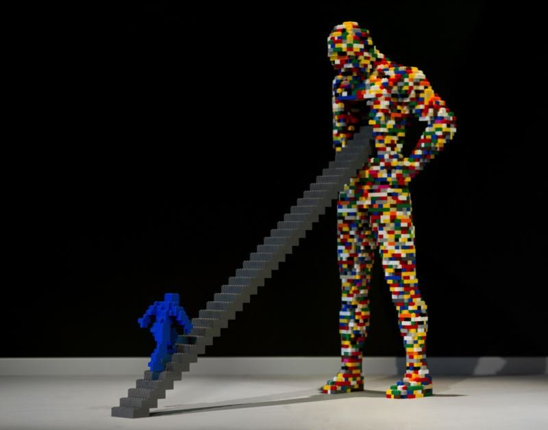 'THE ART OF THE BRICK,' LEGOS STYLE