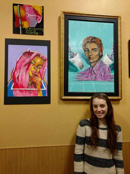 WHS student artist earns community recognition