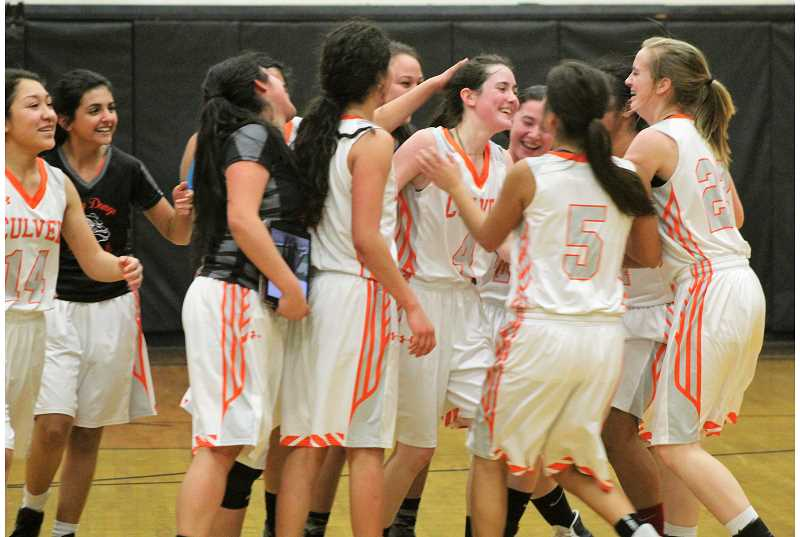 Culver sends off girls basketball seniors with a win