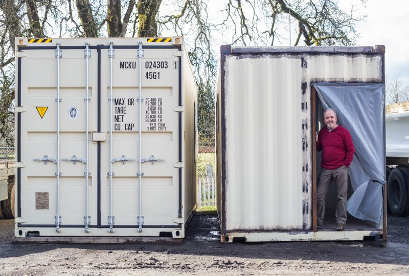 Shipping containers get new life