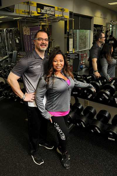 STAFF PHOTO: VERN UYETAKE - Kalani and Heidi Pa both bring decades of fitness expertise to the gym.