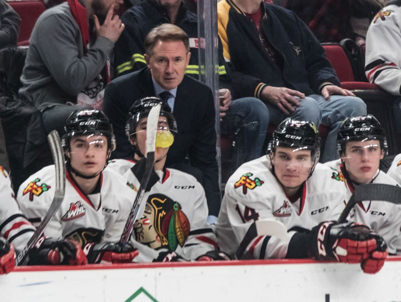TRIBUNE PHOTO: JONATHAN HOUSE - Mike Johnston coaches the Portland Winterhawks, who play in a market and arena (Moda Center) considered a good fit for the NHL -- if Trail Blazers owner Paul Allen ever gives the go-ahead for a franchise.