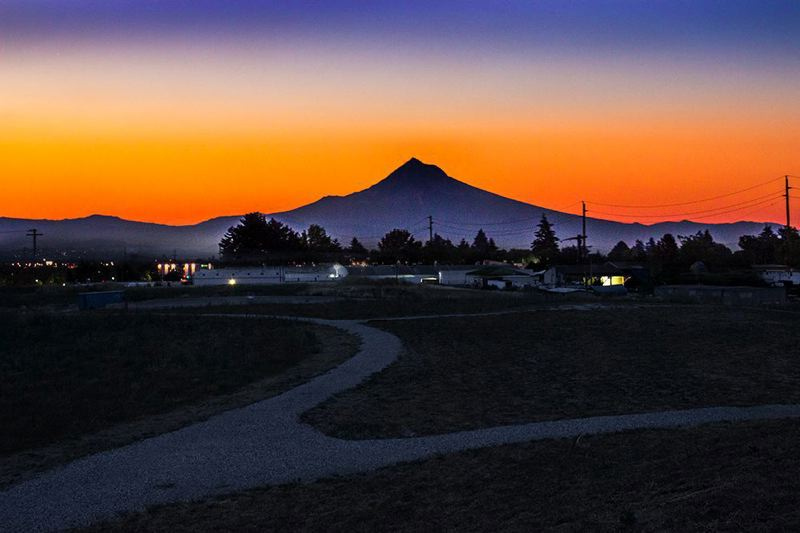 COURTESY: PORTLAND PARKS FOUNDATION - Verde and Portland Parks Foundation have worked with Portland Parks and Recreation to complete funding to open Thomas Cully Park, shown at sunrise, on former construction landfill in Northeast Portland's Cully neighborhood.