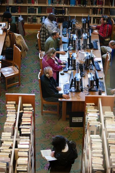 TRIBUNE FILE PHOTO - Local libraries will join the national Day of Facts campaign Friday, Feb. 17, to highlight their contributions to society.