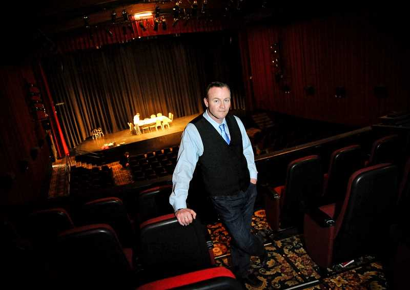 HILLSBORO TRIBUNE FILE PHOTO - Scott Palmer, artistic director and founder of Bag&Baggage Productions, a professional theater group in Hillsboro, said his company is expected to lose thousands of dollars in lost ticket sales after the announcement that The Venetian would be sold next month.