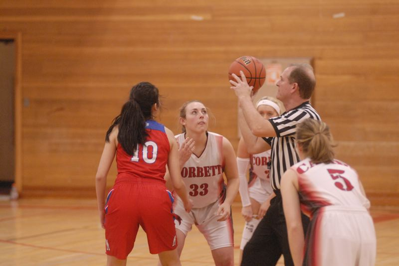 GRESHAM OUTLOOK: MATT RAWLINGS - Corbett's Nicole Herge prepares for the opening tip