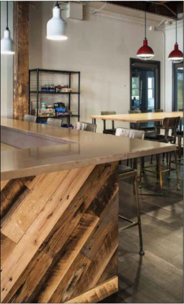 COURTESY: PETE ECKERT - One of Bainbridges recent projects included designing office space for Bright.md.