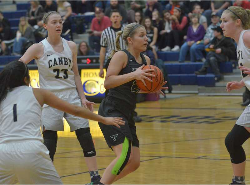 Girls basketball: Kylie Warren leads Tigard to a thrilling overtime victory over Canby