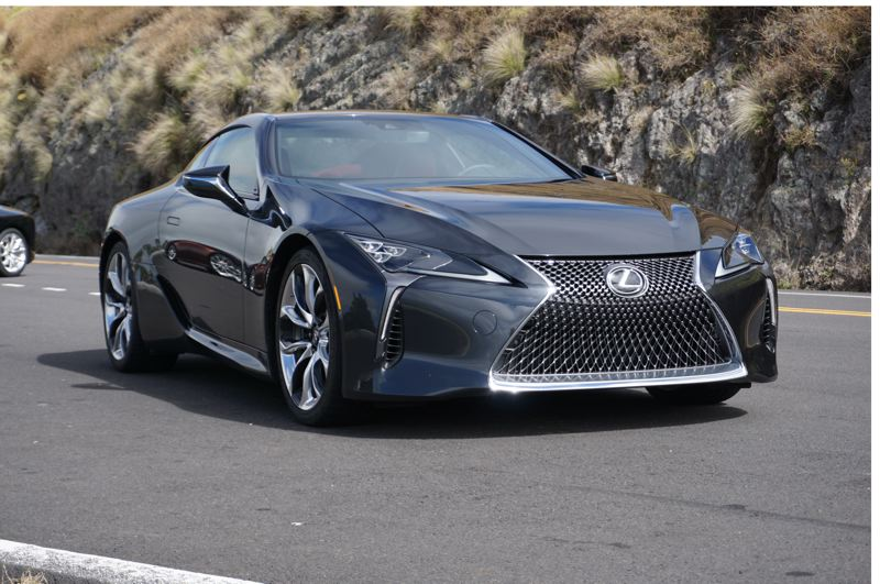 PORTLAND TRIBUNE: JEFF ZURSCHMEIDE - The styling of the 2017 Lexus LC 500 is just short of exotic and shows the new sports coupe means business.