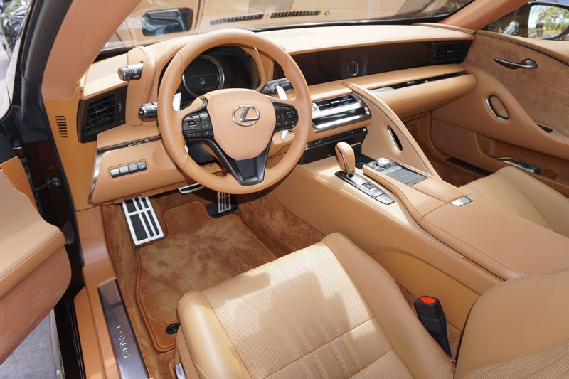 PORTLAND TRIBUNE: JEFF ZURSCHMEIDE - Owners of the 2017  LC 550 will also enjoy every technology feature Lexus can bring to the table, including the touchpad and voice-controlled navigation, climate, and infotainment system.