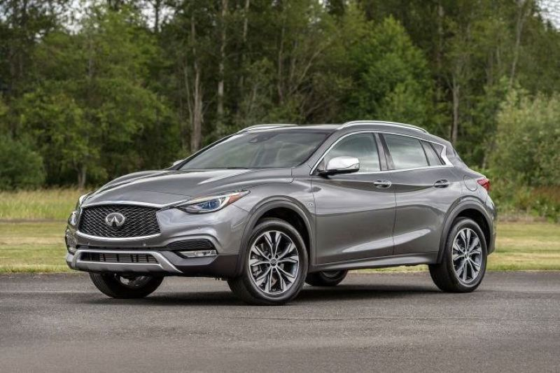 COURTESY INFINITI - The new 2017 Infiniti QX30 is one of the sportiest looking and driving of the new breed of subcompact luxury crossovers.
