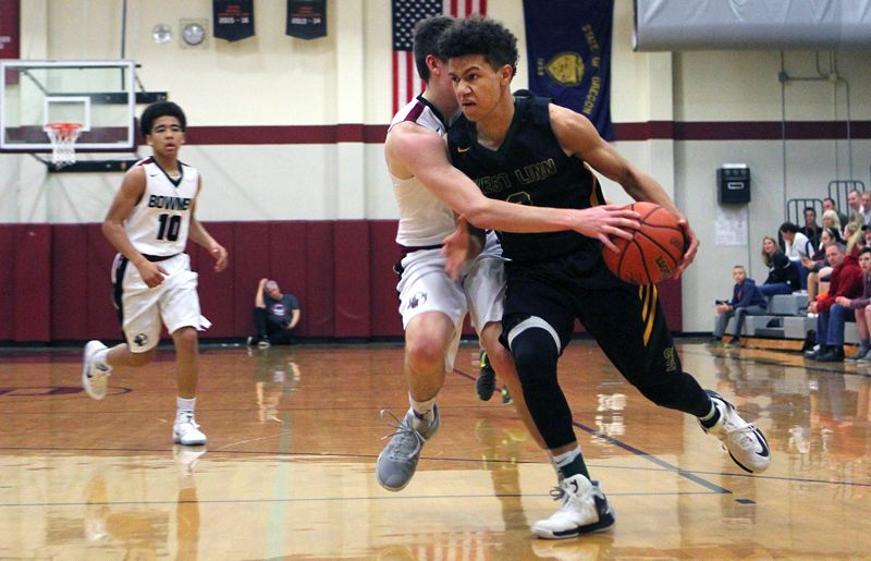 West Linn boys beat Sherwood 67-43 for 12th straight victory