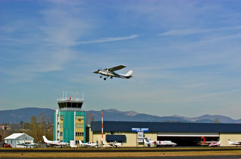 FILE PHOTO - Troutdale Airport.