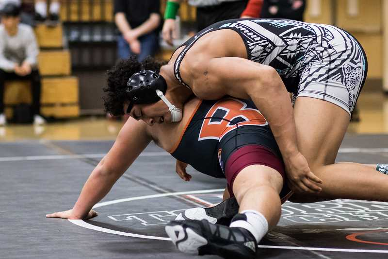 Century leads local pack at district wrestling championships