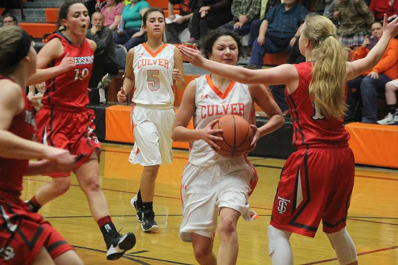 Culver girls see their season conclude in Pendleton