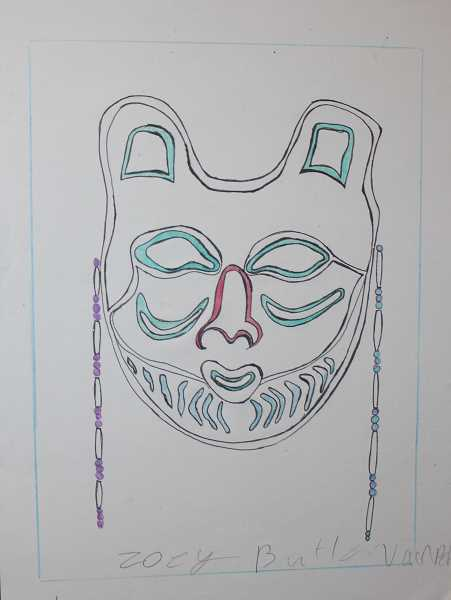 Tribal Youth Art Show at museum