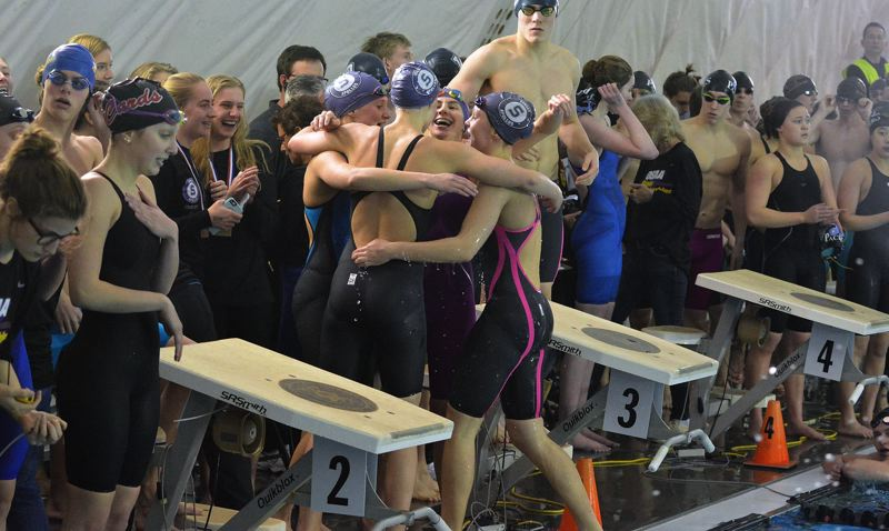 Sunset swimming takes home Class 6A state championship