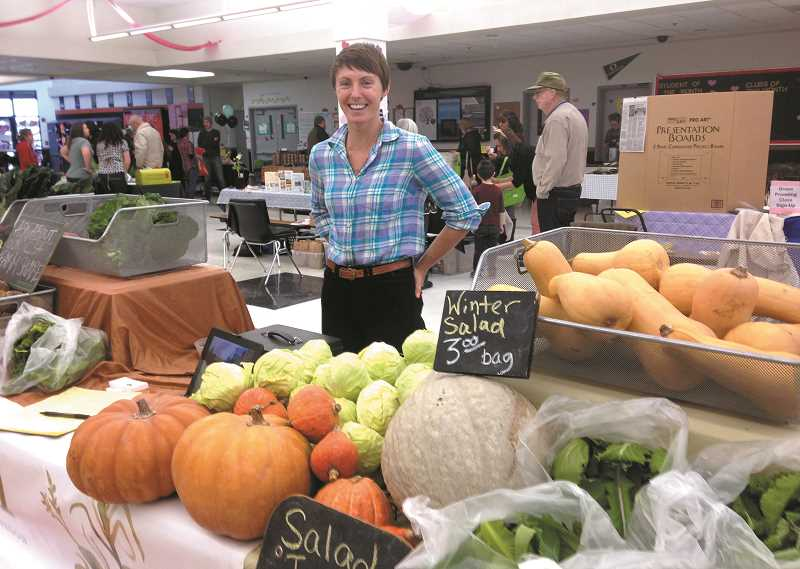 PEGGY SAVGE - Simmington Farms was one of many local farms represented at last year's Farmers Fair.