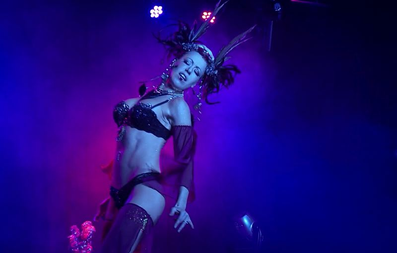 COURTESY: XLRATOR MEDIA - Angelique DeVil and other Portland burlesque stars appear in 'Burlesque: Heart of the Glitter Tribe,' a behind-the-scenes look at the resurgence of what many call a dance art form.