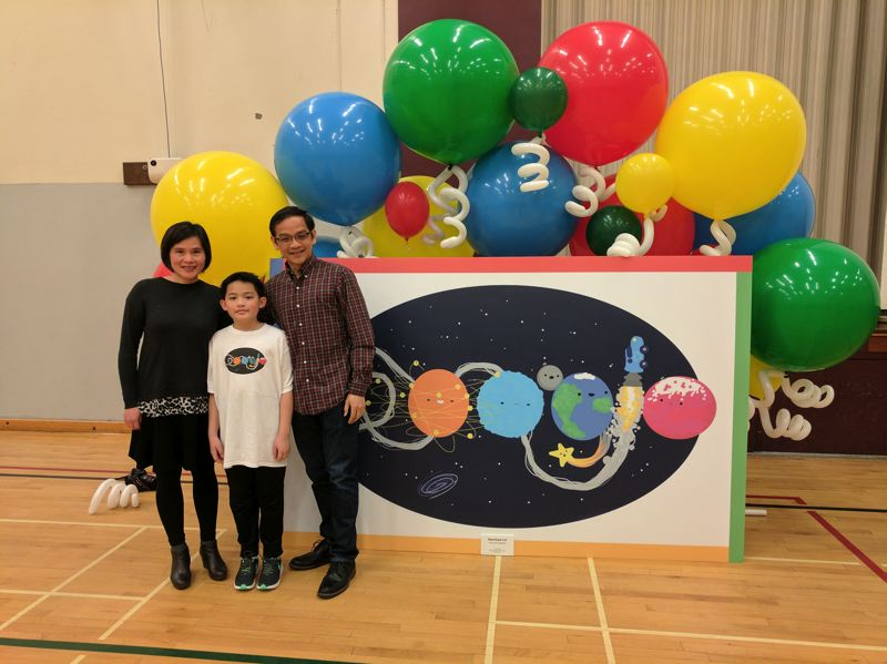 West Sylvan student's artwork now in national $80,000 Google competition