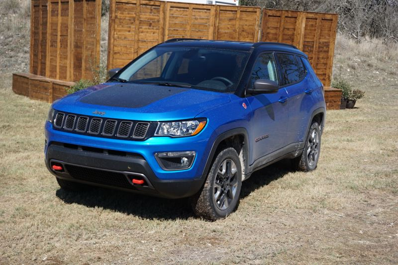 PORTLAND TRIBUNE: JEFF ZURSCHMEIDE - The 2017 Compass is boldly designed in the Jeep tradition, with a distinct family resemblance to the current Grand Cherokee.