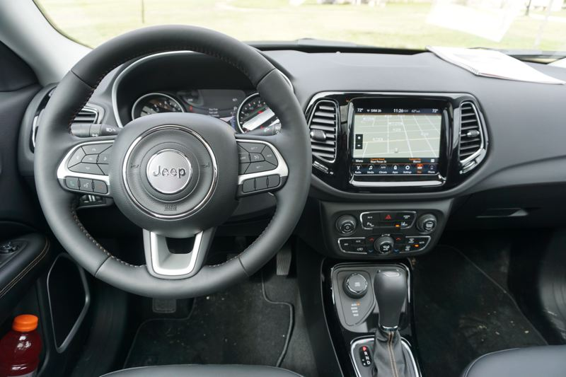 PORTLAND TRIBUNE: JEFF ZURSCHMEIDE - The 2017 Jeep Compass is available with the latest Uconnect smart phone integration and navigation system. You can order a six-speed manual transmission, a six-speed automatic transmission, or a nine-speed automatic transmission.