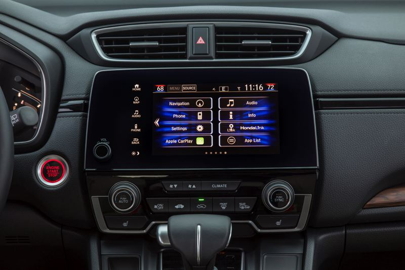 HONDA NORTH AMERICA - While the 2017 Honda CR-V offers more advanced technologies than ever before, the most welcome news is the return of the volume control knob.