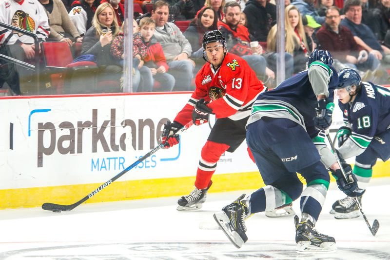 WHL: Winterhawks Hope To Rediscover Mojo - Three-game Set With Giants Chance For Portland To Find Chemistry