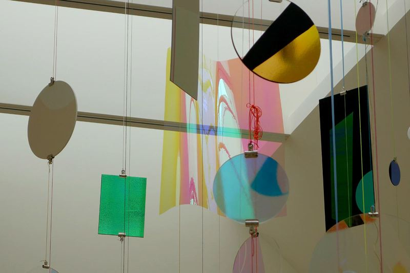 PHOTO COURTESY: OREGON ARTS COMMISSION - Laura Hughes investigates how individual perceptions of light, form and shape interact with one another in her mixed-media installation, Almost Perfect, up now at Linfield Gallery