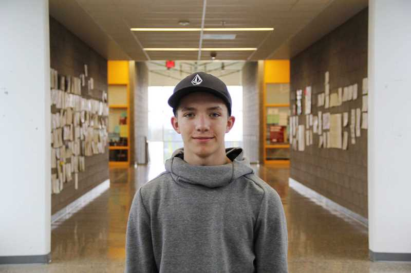COURTESY PHOTO: THE ADVOCATE - FGHS senior Zacharay Mossbarger told The Advocate, FGHSs online student newspaper, that Breaking Down the Walls gave me a sense of awareness...It has impacted the way I view people around me.