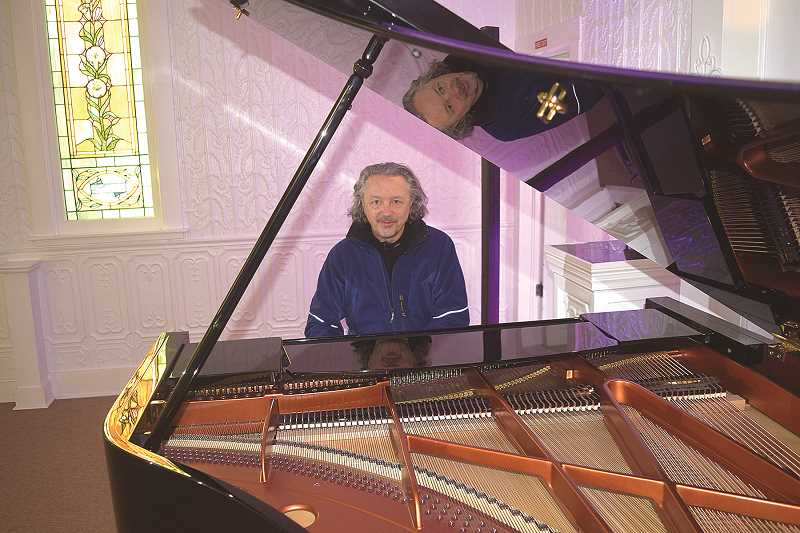 DANIEL PEARSON - Long-time Portland concert pianist Michael Allen Harrison is working out of the Canby Pioneer Chapel and the centerpiece of the place is a replica Bosendorfer Vienna Concert Grand that is one of few in the world today.
