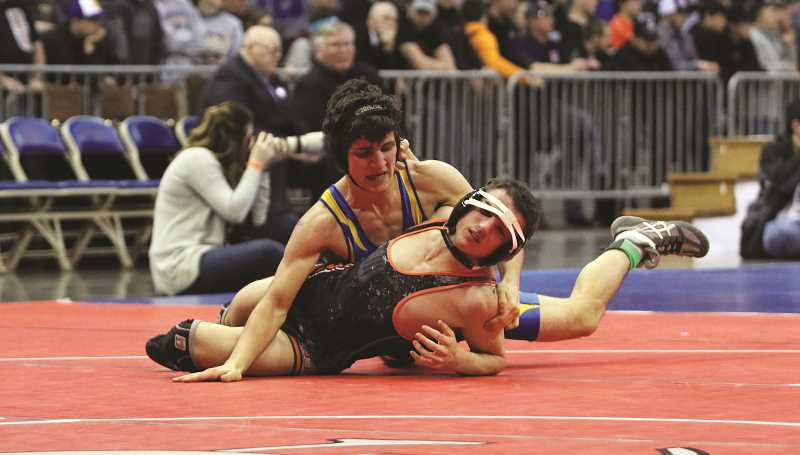 Molalla freshman grabs state second place