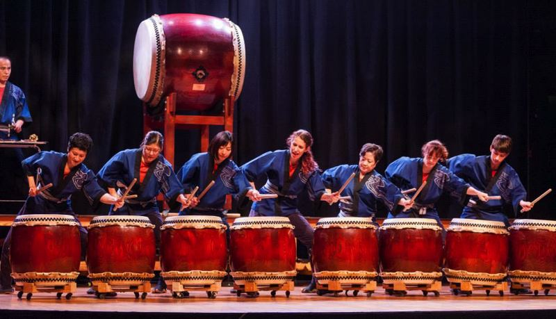 SHerwood Center for the Arts - Portland Taiko