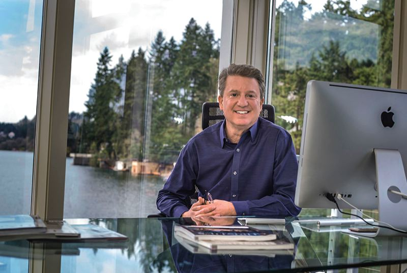 Terry Sprague who owns Luxe Platinum Properties in Lake Oswego.