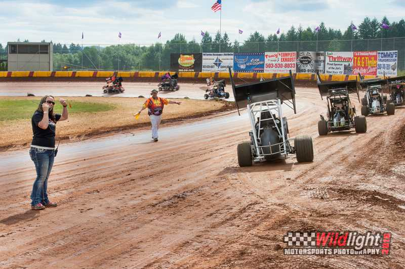 COURTESY PHOTO - Banks Sunset Speedway owner Nikki Gammel is concerned a new development close to her business will eventually shut them down with increased noise complaints.