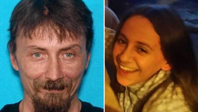 SUBMITTED PHOTOS - Police are searching for Thomas Clarence Stofiel, 44, and his 9-year-old daughter, Kaitlyn. Stofiel's pickup truck was found in late February just off Highway 26 in the northwest area of the Warm Springs Reservation.
