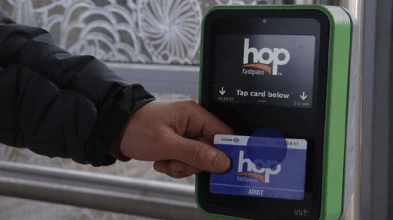 COURTESY: TRIMET - The Hop Fastpass will activate this summer.