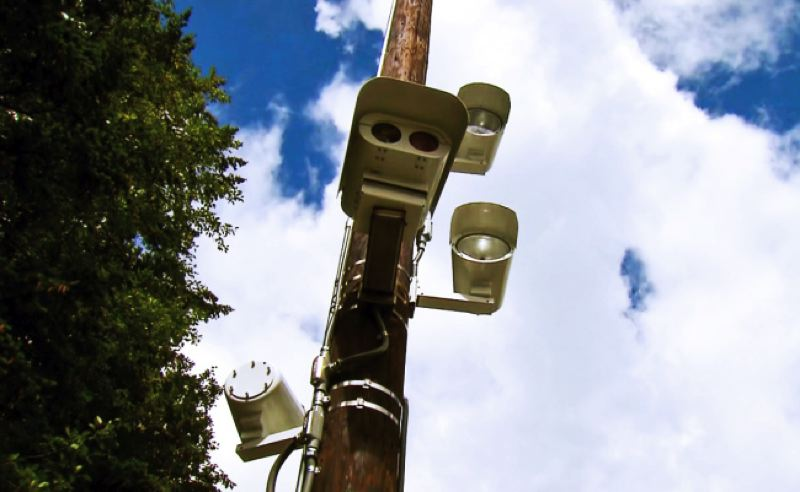 KOIN 6 PHOTO - Speed cameras will be turned on at SE Division Street and 122nd Avenue Monday, March 6, 2017.
