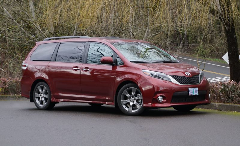 PORTLAND TRIBUNE: JEFF ZURSCHMEIDE - The 2017 Toyota Sienna is a sharply styled minivan that offers more interior room than a crossover SUV — and is easier to get in and out of, too, thanks to the sliding side doors.