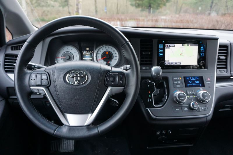 PORTLAND TRIBUNE: JEFF ZURSCHMEIDE - The 2017 Toyota Sienna can be ordered with the latest technologies and the controls are easy to understand and use.
