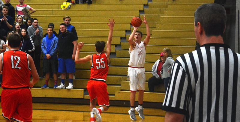 TIMES PHOTO: MATT SINGLEDECKER - Westview senior Zach Sly has brought a big-time perimeter shot to the Widcats rotation this season.