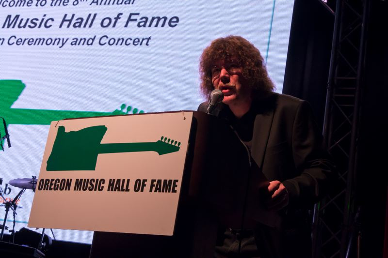 COURTESY PHOTO - Terry Currier is stepping back from his president duties with Oregon Music Hall of Fame, but 'they'll still get 75 to 100 hours a year out of me.'
