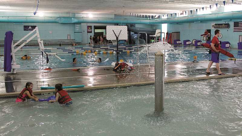 INDEPENDENT FILE PHOTO - The Woodburn Aquatic Center is closed until further notice due to a malfunctioning filtration system.