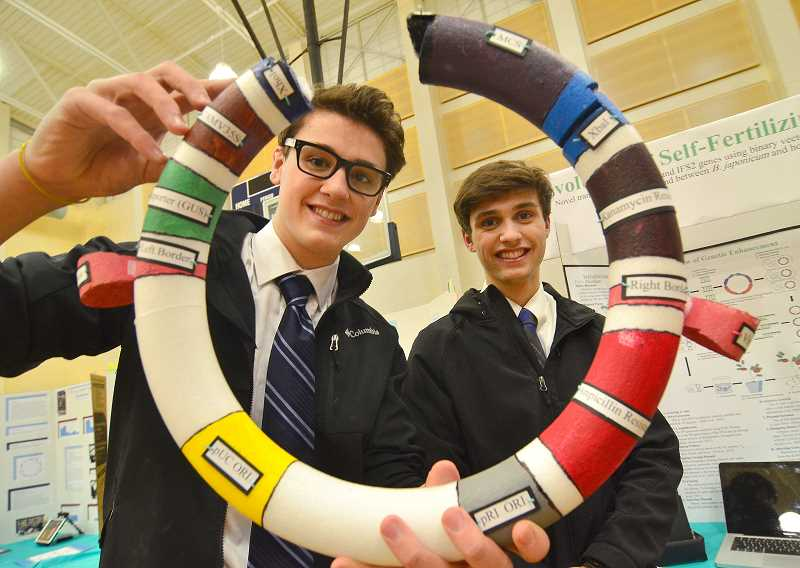 Students impress judges during during high school science fair